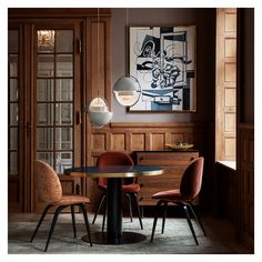 A collection of our favourite dining rooms. Including jaw-dropping chandeliers, wall sconces, dining table lamps and contemporary dining room furnishings. Danish Furniture, Small Furniture, Art Furniture, Interior Decorating, Interior Design, Decorating Ideas, Decor Ideas, Dining Room Lighting, Interior Inspiration