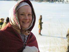 Medieval winter wear!