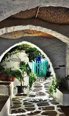 Alley.. Paros Island (Cyclades), Greece