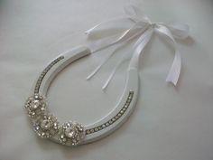Wedding Horseshoe Ring Holder  Ring Pillow by ericabstudios, $45.00