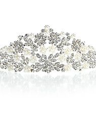 Alloy Tiaras With Rhinestone/Imitation Pearl For ... – GBP £ 16.78