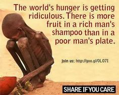 modified corn was supposed to help make it easier to feed people, poor people in need of it.... but the poor in the states still live in food deserts and the poor in other nations are skeletal. In war... who ever controls the food tends to win... what really are we winning when this child starves to death?