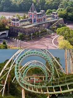 Rare Look Inside the Abandoned Nara Dreamland Theme Park