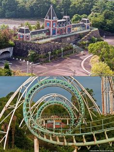 Rare Look Inside the Abandoned Nara Dreamland Theme Park