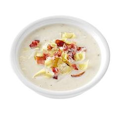 Artichoke & Bacon Cauliflower Soup Recipe -When I had surgery, my oldest son, a chef, came to cook my meals. He made a simple cream of cauliflower soup with ingredients I had. I was so touched that he came to care for me. This soup reminds me of that special time. — Mildred Caruso, Brighton, Tennessee