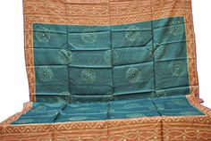 Range of Stoles & Dupatta, India: Hand block printed and hand embroidered stoles and dupattas (large traditional fabric used by Indian women to cover their head and upper body) from Champa, Chattisgarh, Central India. The edges are finished with the hand appliqué technique. The International 2012 Panel of Experts commended the excellent quality of the block print, which is difficult to achieve on wild tassar silk, and the exquisite hand appliqué finishing.