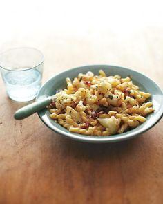 Gemelli with Cauliflower, Bacon, and Sage - Martha Stewart Recipes