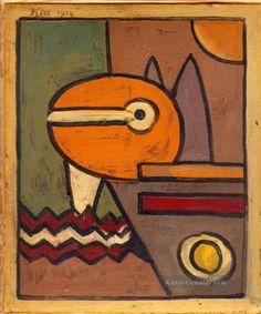 Expressionismus Bauhaus Surrealismus Paul Klee Gemälde mit öl zu verkaufen