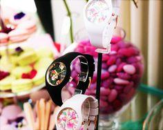 """Concours : tentez de remporter une montre """"Ice Flower Paradise"""""""