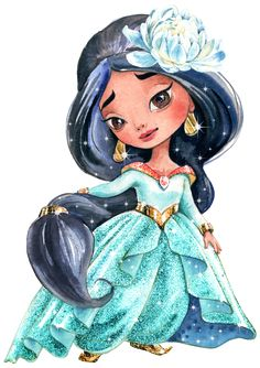 Beautiful Things, Decoupage, Toddler Girls, Drawings, Drawing Art, Watercolor Painting, Princesses, Manualidades