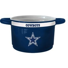 Boelter Dallas Game Time 23oz Ceramic Bowl