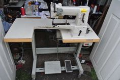 Wimsew CYLINDER ARM COMPOUND WALKING FOOT Industrial Sewing Machine,