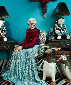 Icon Iris Apfel via How To Spend It | The English Room