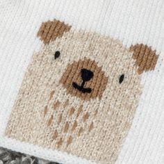 Knitting Pattern Partner 3.5 Baby Sweater