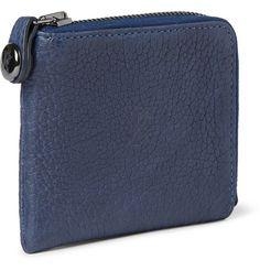 Parabellum - Courier Zip-Around Leather Wallet