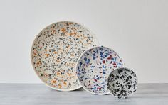 Sevak Zargarian is a ceramic designer maker working with parian porcelain and a handmade terrazzo style collection based in London, UK.