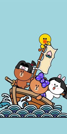 • Line Friends 배경화면 모음! : 네이버 블로그 Lines Wallpaper, Cute Wallpaper Backgrounds, Best Quotes Wallpapers, Cute Wallpapers, Friends Image, Line Friends, Line Cony, Rilakkuma Wallpaper, Bear Gif