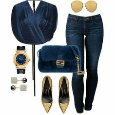 A fashion look from September 2015 featuring Tome blouses, THVM jeans and Tom Ford pumps. Browse and shop related looks. Fashion Killa, Look Fashion, Autumn Fashion, Fashion Outfits, Womens Fashion, Fashion Trends, Classy Outfits, Stylish Outfits, Mode Jeans