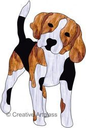 Картинки по запросу stained glass patterns dogs free