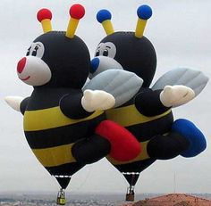 Saw this pair of balloons at the Balloon Fiesta in Albuquerque, New Mexico when we were there in Air Balloon Rides, The Balloon, Hot Air Balloon, Balloon Glow, Air Balloon Festival, Air Festival, Air Ballon, Balloon Animals, Helium Balloons