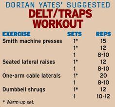 Dorian Yates On Traps | XbodyConcepts