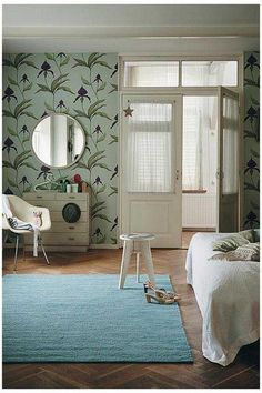 Add sophistication to your bedroom with this beautiful flatweave wool rug: Brink & Campman Cobra 29418 Wool Rug