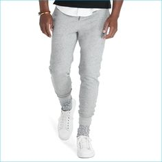 Polo Ralph Lauren Grey French Terry Athletic Pants