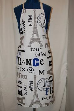 PARIS Design KITCHEN APRON - Iconic style - Made in France