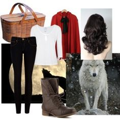 modern Little Red Riding Hood on We Heart It http://weheartit.com/entry/59109004/via/danielacristina_sucre