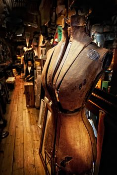 The gorgeous patina on this old mannequin, adjustable to fit any shape or size, oh the stories and secrets of the creators it must hold.