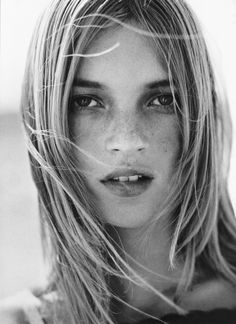 Kate Moss photographed by Mario Testino.