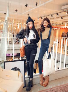 Stylenanda: Jung Minhee Park Sora