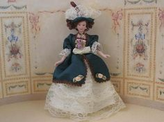 Anne (PD147) - Dolls and Resin Figures. Over 10,000 similar dolls house miniature products available from www.thedollshousestore.co.uk