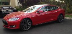 """This is brilliant! The """"Electric Car Blues"""". ---Tesla Model S still uses a Nozzie to charge at a supercharger. It's not like that was removed because it's now electric instead of oil"""