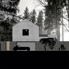 Family house in Mnisek. In contruction proccess. #architecture #project #ajj