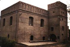 The Great Synagogue of Lutsk, renovated after WW2 Lutsk, Ukraine 1984