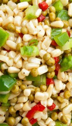 Shoepeg Corn Salad with Honey Dressing