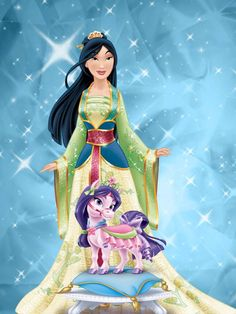 Mulan and lychee by unicornsmile on DeviantArt