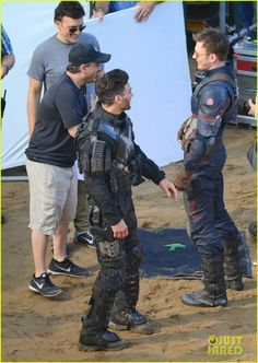 captain america civil war cast had great time on set 33 The cast of Captain America: Civil War look like they are having a great time on set on Wednesday (May 20) in Atlanta, Ga.    Chris Evans (Captain America) and Elizabeth…