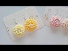 Crochet Jewelry Patterns, Crochet Projects, Seed Beads, Crochet Earrings, Handmade, Crochet Mandala, Handmade Chain Jewelry, Head Bands, Ear Rings
