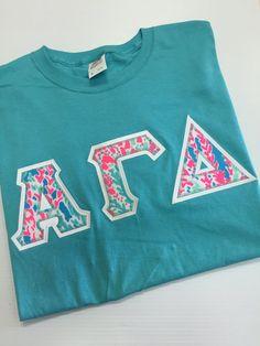 Greek letter v neck shirt adpi v neck zeta vneck alpha for Cute greek letter shirts
