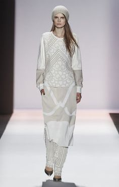 BCBGMAXAZRIA Fall 2013 Runway: Ania Silk Cami Dress. Get the look at www.bcbg.com/. #BCBG #BCBGMAXAXRIA #fall2013 #runway #collection #NYFW