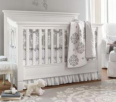 Larkin Fixed Gate 4-in-1 Crib   Pottery Barn Kids. after delivery surcharge - 800
