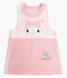 The #MyMelody adult sized apron for fun times in the kitchen