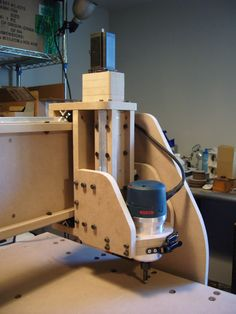"New Machine Build One years worth of pics and videos of my 43"" x 98"" MDF machine FIRST BUILD!!!"
