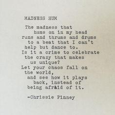 Madness Hum. Gypsy Chronicles no. 36
