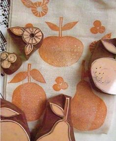 FRUITS - handmade