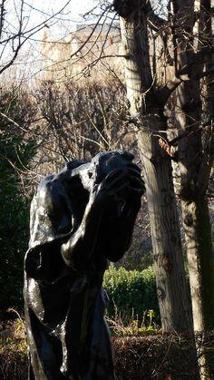 Sculpture du jardin du musée Rodin