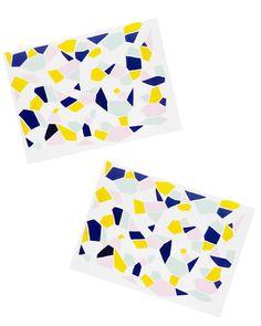 Geode Print Notecard Set