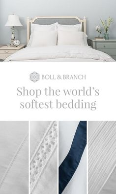 Life-changing luxury: Our 100% organic cotton linens are ethically sourced, fairly priced, and about to change your home for good.